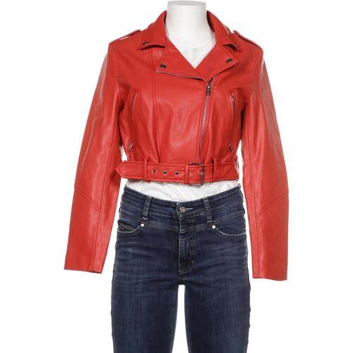 bershka Damen Jacke rot, INT L C2A2006 rot
