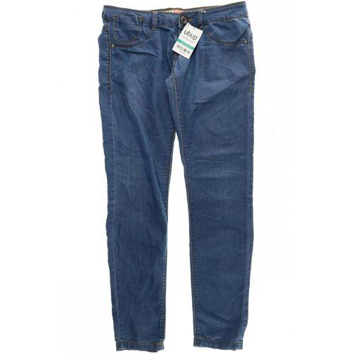 bershka Damen Jeans blau, EUR 34, Jeans kein Etikett 84F518E blau