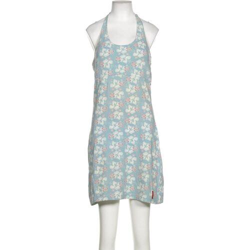 exxtasy Damen Kleid blau, DE 38, Elasthan Baumwolle 59A1751 blau