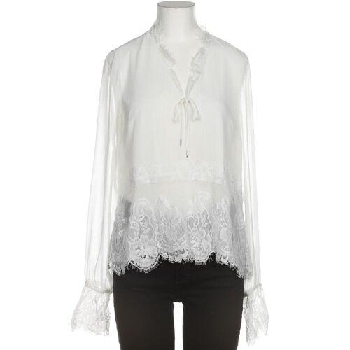 tigha Damen Bluse weiß, INT M, Synthetik weiß