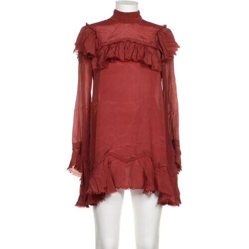 tigha Damen Bluse rot, INT M, Seide Viskose rot