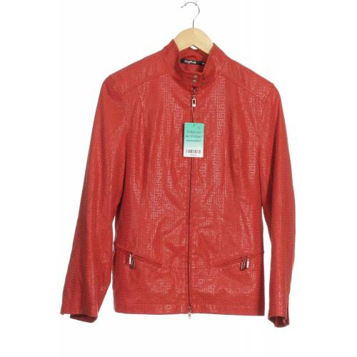 tigha Damen Jacke rot, INT M rot