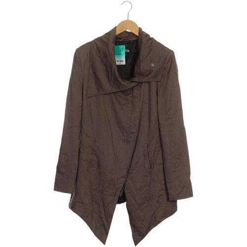 tigha Damen Mantel grau, INT XL, Synthetik grau