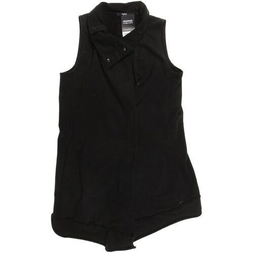 tigha Damen Weste schwarz, INT L, Baumwolle schwarz