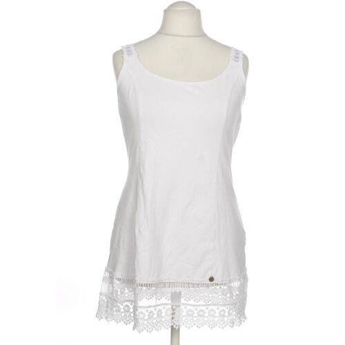 tredy Damen Kleid weiß, DE 38, Elasthan Baumwolle weiß