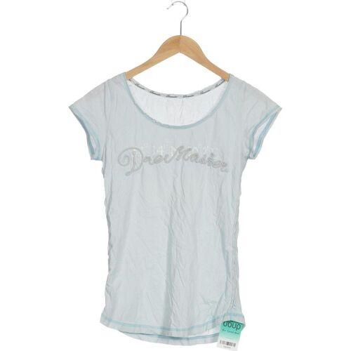 DreiMaster Damen T-Shirt blau, DE 152 blau
