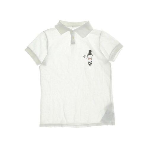 Trussardi Herren Poloshirt weiß, US 11-12 Jahre, Baumwolle weiß