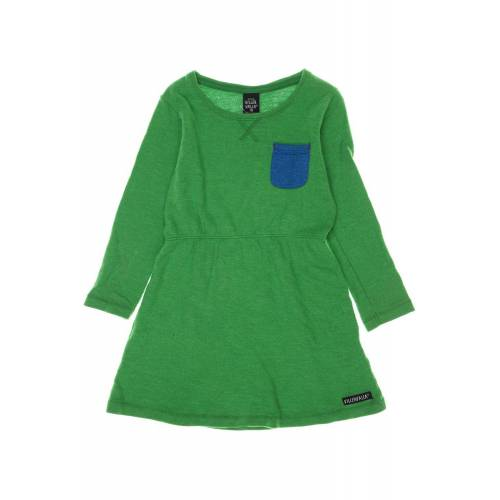 Villervalla Damen Kleid grün, DE 116, Baumwolle 6EE8625 grün