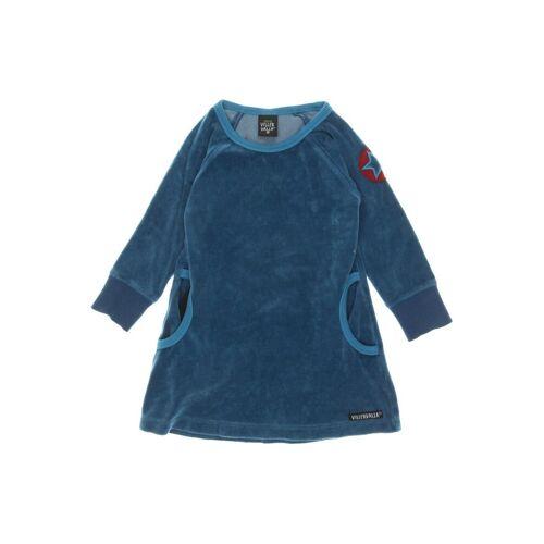 Villervalla Damen Kleid blau, DE 92, Baumwolle Synthetik blau