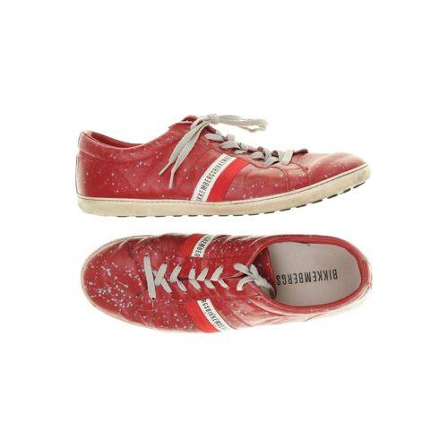 BIKKEMBERGS Herren Sneakers rot, DE 43 rot
