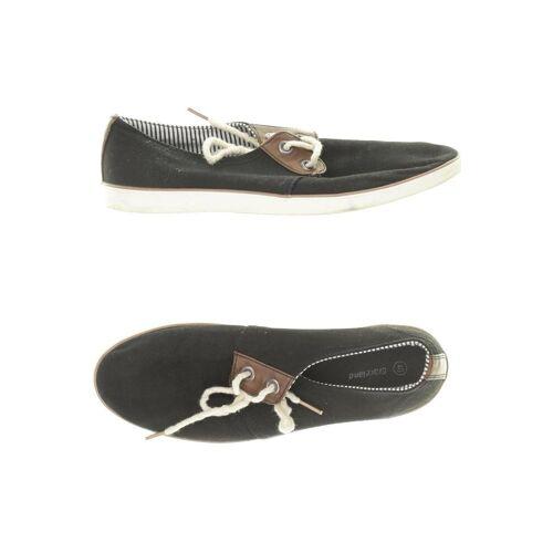 Graceland Herren Sneakers schwarz, DE 40 schwarz