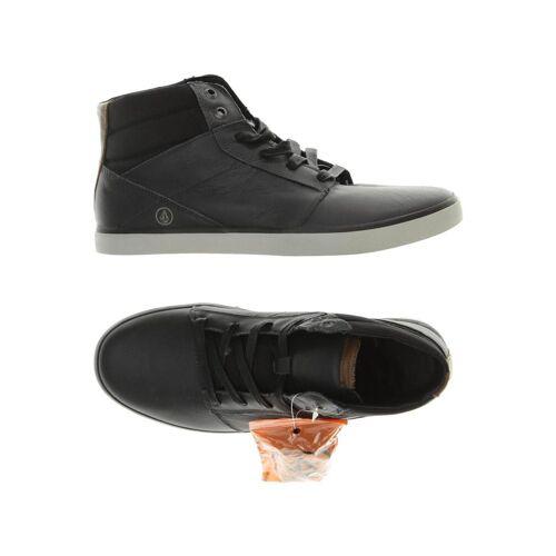 VOLCOM Herren Sneakers schwarz, UK 6.5, Leder schwarz