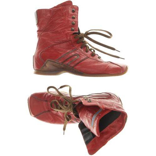 Airstep Damen Stiefelette rot, DE 36 rot