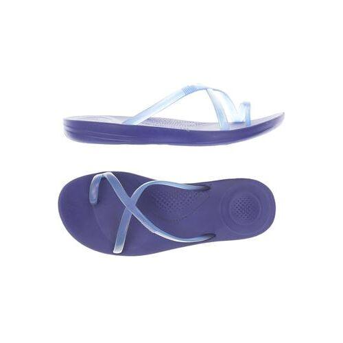 FitFlop Damen Sandale blau, DE 39 blau