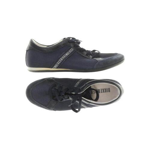 BIKKEMBERGS Damen Sneakers blau, DE 36, Leder blau
