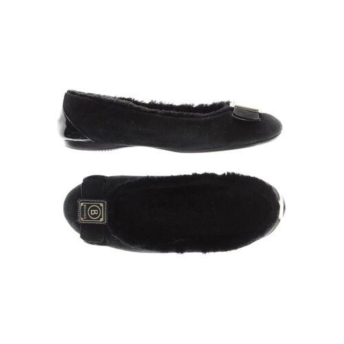 Bogner Damen Ballerinas schwarz, DE 38 schwarz