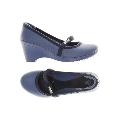 Crocs Damen Pumps blau, US 5 blau