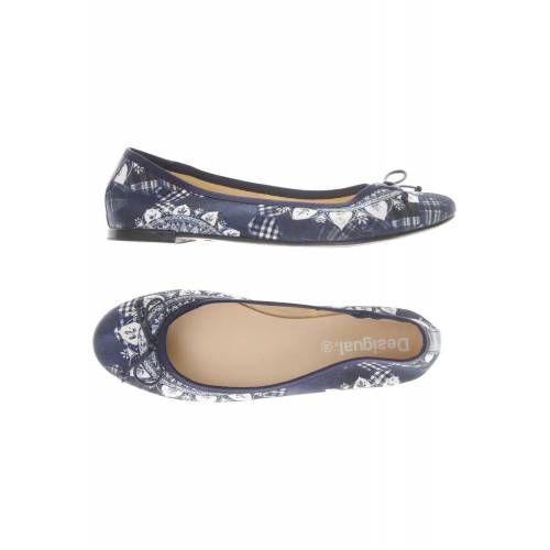 Desigual Damen Ballerinas blau, DE 39 875C806 blau
