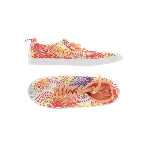 Desigual Damen Sneakers rot, DE 39 rot