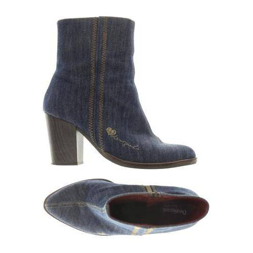 Desigual Damen Stiefelette blau, DE 41 blau