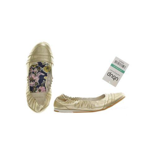 Diesel Damen Ballerinas gold, DE 35, gold