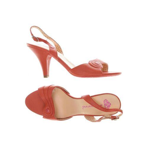 Fornarina Damen Sandale rot, DE 37, Leder rot