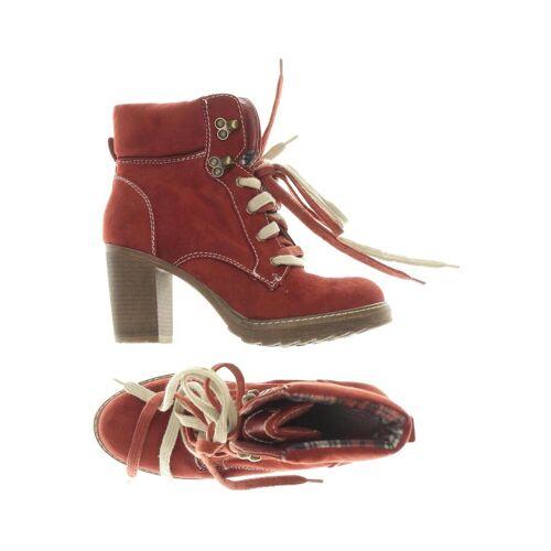 Graceland Damen Stiefelette rot, DE 39 7A2DE02 rot