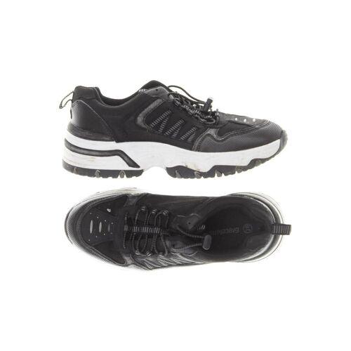 Graceland Damen Sneakers schwarz, DE 36, Kunstleder schwarz