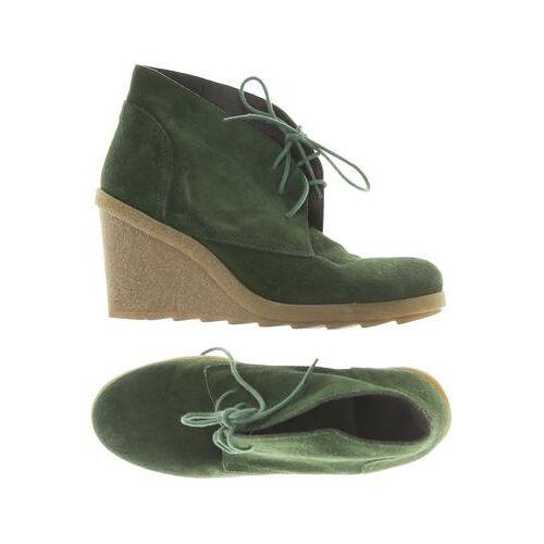 Hallhuber Damen Stiefelette grün, DE 40 grün