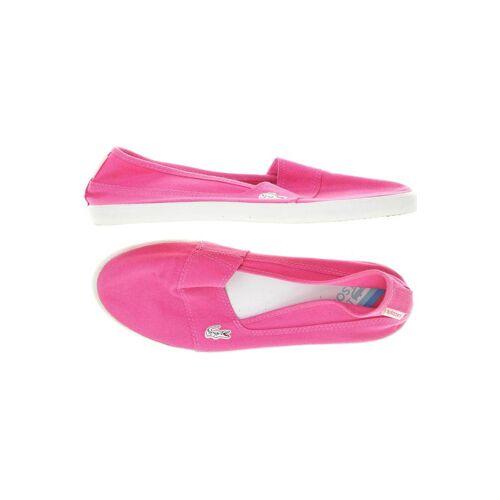Lacoste Damen Ballerinas pink, DE 40.5 pink