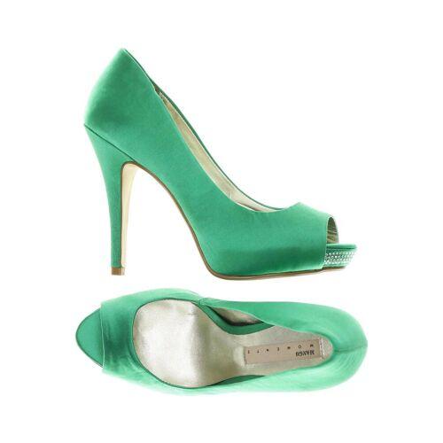 MANGO Damen Pumps grün, DE 37 grün