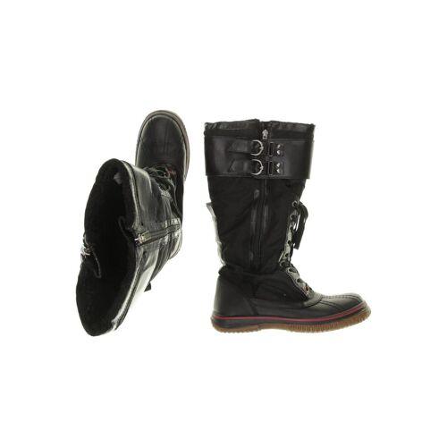 Pajar Damen Stiefel schwarz, DE 40, Leder schwarz