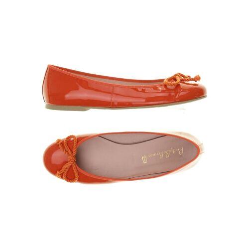 Pretty Ballerinas Damen Ballerinas orange, DE 40.5, Leder orange