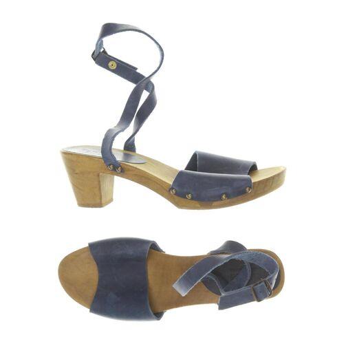 Sanita Damen Sandale blau, DE 40 blau