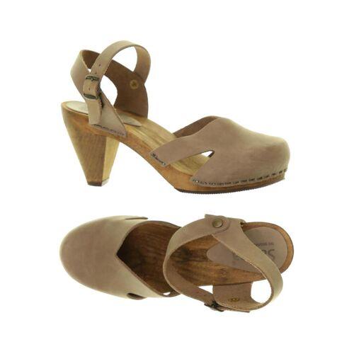 Sanita Damen Sandale braun, DE 36 braun