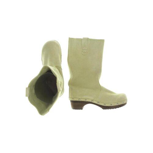 Sanita Damen Stiefel grün, UK 3, Leder grün