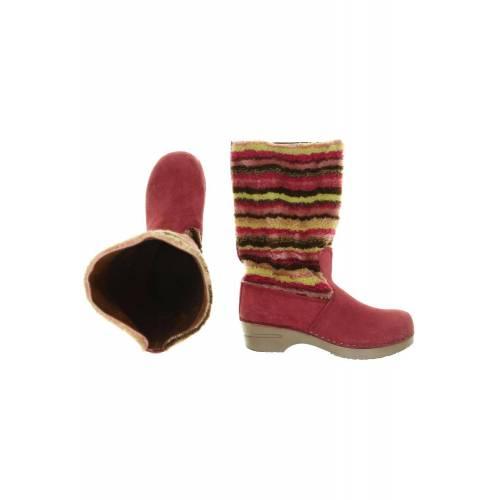 Sanita Damen Stiefel pink, DE 40, Leder pink