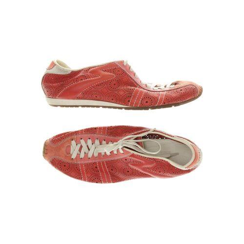 Santoni Damen Sneakers rot, DE 37.5 rot