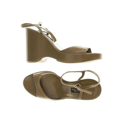 Strenesse Damen Sandale braun, DE 36.5, Leder F9FD26F braun