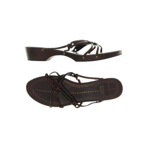 Strenesse Damen Sandale braun, DE 41 5897AFF braun