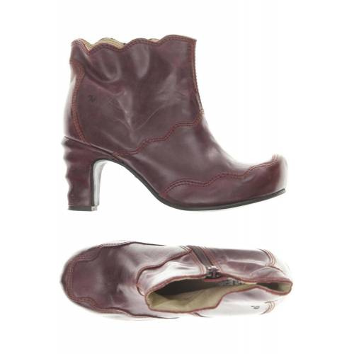 Tiggers Damen Stiefelette rot, DE 37, Leder rot