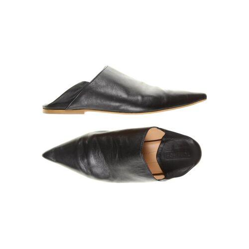 Topshop Damen Sandale schwarz, DE 38, Leder schwarz
