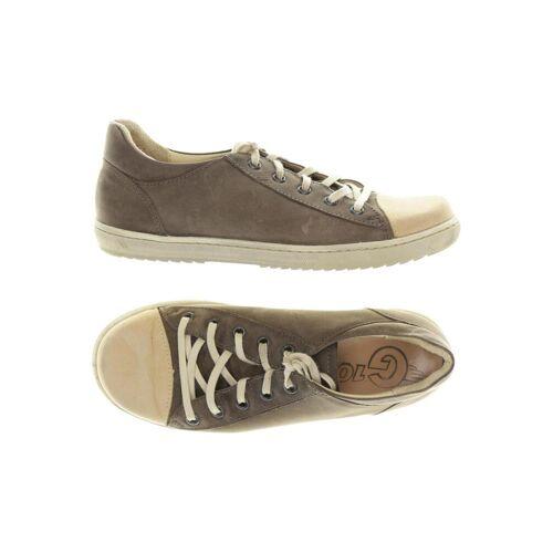 Waldviertler Damen Sneakers braun, DE 37 braun