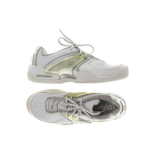 Wilson Damen Sneakers weiß, UK 6.5 weiß