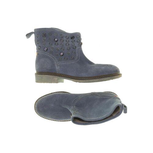Wrangler Damen Stiefelette blau, DE 37, Leder blau