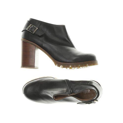Zalando Essentials Damen Stiefelette schwarz, DE 37, Leder schwarz