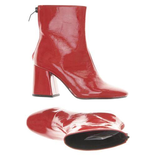 bershka Damen Stiefelette rot, DE 36 rot