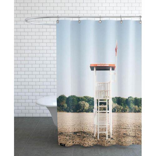 """JUNIQE Duschvorhang Architekturdetails """"Shorewatch"""" von JUNIQE"""