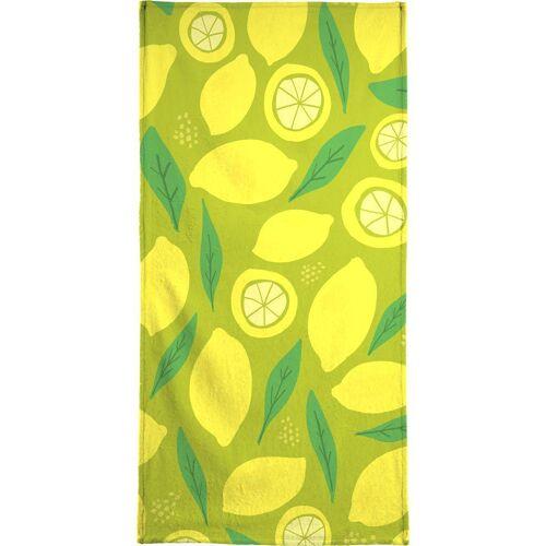 """JUNIQE Handtücher Zitronen """"Lemonade"""" von JUNIQE"""