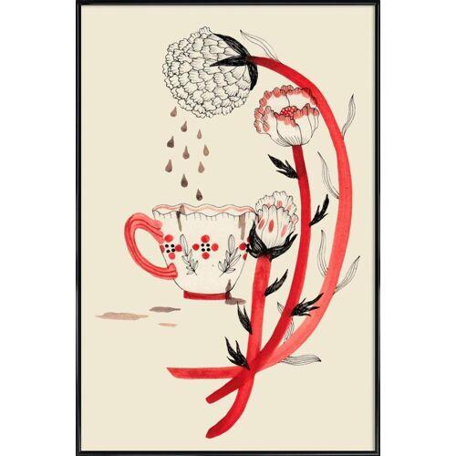 """JUNIQE Kunstdruck Kaffee """"Coffee"""" von JUNIQE - Künstler: Daniela Spoto"""